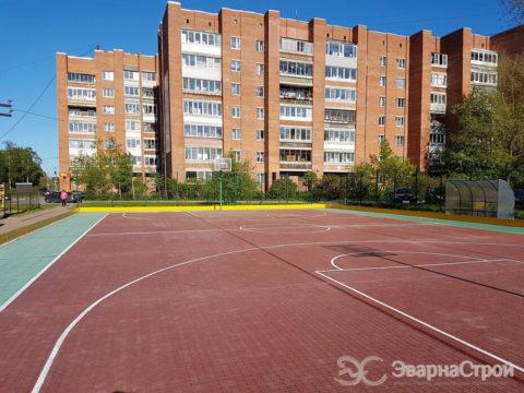 Спортивный комплекс, открытый. Кронштадт.